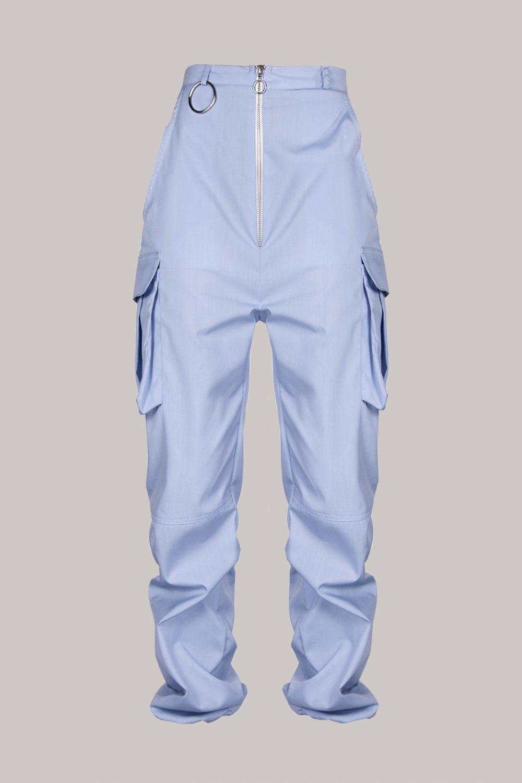 Pantalón cargo azul